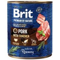 Brit Premium Pork with Trachea húspástétom kutyáknak sertéshússal