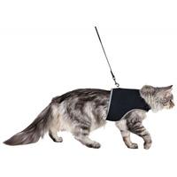 Trixie strapabíró, lélegző hálós anyagból készült hám és póráz macskáknak