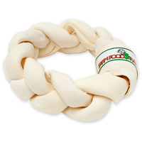 Farmfood Rawhide Dental Braided Donut