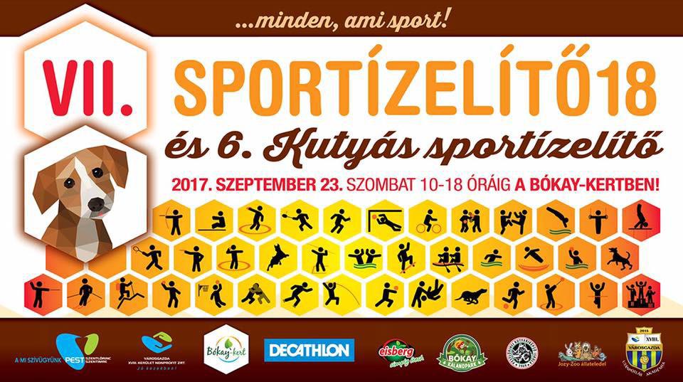 VI. Kutyás Sportízelítő plakát