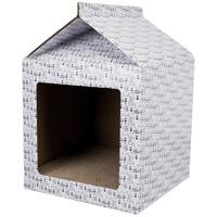 Trixie kaparó házikó macskáknak kartonpapírból