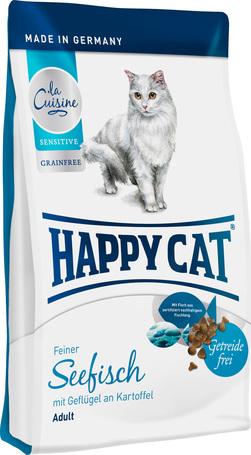 Happy Cat Sensitive Grainfree Seefisch | Könnyen emészthető tengeria halas macskatáp gabonamentes receptúrával