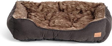 Agui Furry Bed szőrös fekhely kutyáknak - Fekete