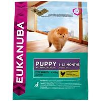 Eukanuba Puppy Toy Breed | Kistermetű kutyák részére | Szárazeledel | Apró szemcseméret