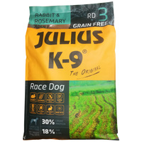 Julius-K9 GF Race Dog Adult Rabbit & Rosemary kutyatáp
