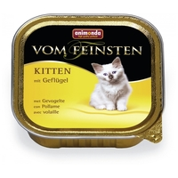 Animonda Vom Feinsten Kitten – Szárnyashúsos eledel kölyök macskáknak