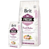 Brit Fresh Chicken with Potato Puppy & Junior Healthy Growth