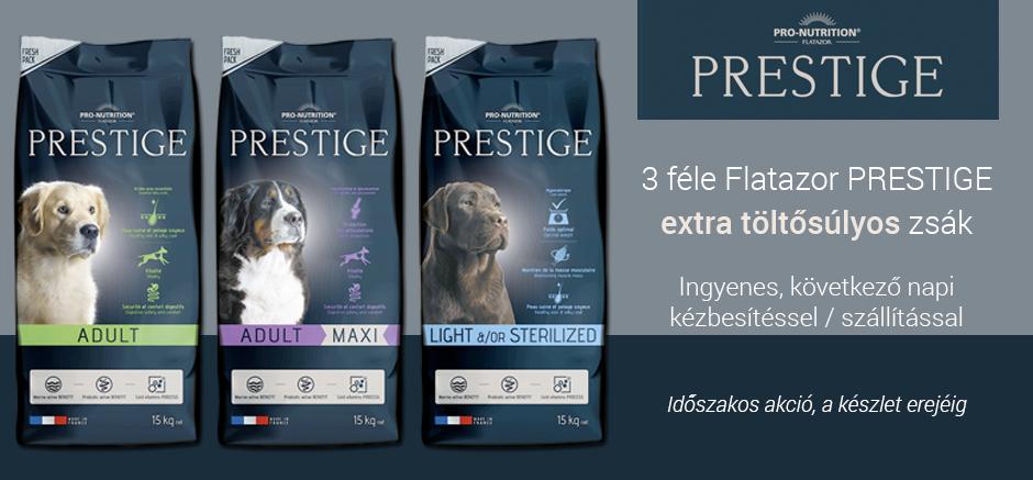 Flatazor Prestige extra töltősúlyos zsákok