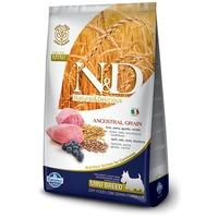 N&D Dog Adult Mini Lamb & Blueberry Low Grain | Eledel kistestű felnőtt kutyáknak