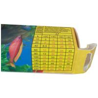 Rester fix akvárium fűtők - Táblázat