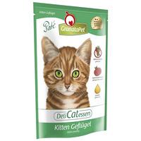GranataPet DeliCatessen Kitten szárnyashúsos eledel alutasakban