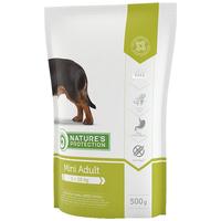 Nature's Protection Dog Mini Adult | Száraztáp | Kistestű felnőtt kutyáknak