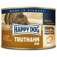 Happy Dog Truthahn Pur - Tiszta pulykahúsos konzerv  | Egyetlen fehérjeforrás