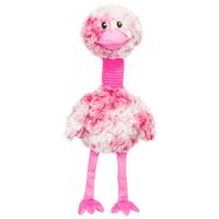 Trixie rózsaszínű plüss madár kutyajáték hanggal