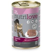 Nutrilove Cat borjúhúsos pástétom konzervben
