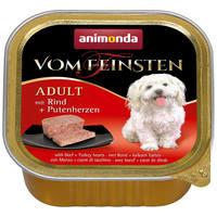 Animonda Vom Feinsten Adult – Marhahúsos és pulykaszíves kutyaeledel
