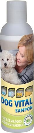 Dog Vital sampon fehér és világos szőrű kutyáknak