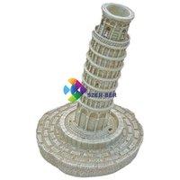 Pisai ferde torony levegőporlasztós akvárium dekoráció