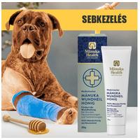Orvosi sebkezelő Manuka méz kutyáknak és macskáknak