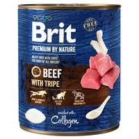 Brit Premium Beef with Tripe húspástétom kutyáknak marhahússal és pacallal