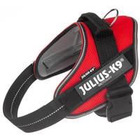 Julius-K9 IDC powAIR légáteresztő, szellőző, nyári hám kutyáknak piros színben