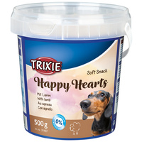 Trixie Soft Snack Happy Hearts | Jutalomfalat kutyáknak vödrös kiszerelésben