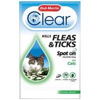 Bob Martin Clear Spot On macskák számára
