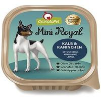 GranataPet Mini Royal Kalb & Kaninichen - Borjú és nyúl cukkinivel, sütőtökkel és lenolajjal