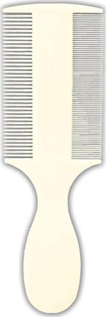 Trixie kétoldalas műanyag fésű bolhák és tetvek ellen