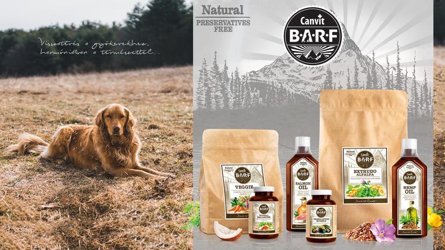 Canvit BARF táplálékkiegészítők kutyák részére