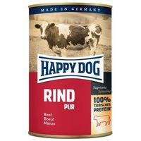 Happy Dog Rind Pur - Tiszta marhahúsos konzerv | Egyetlen fehérjeforrás