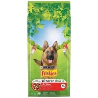 Friskies Active szárazeledel energiával teli, játékos kutyáknak