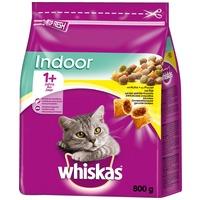 Whiskas Indoor csirkehúsos száraztáp lakásban tartott macskáknak