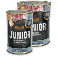 Belcando Junior konzerv baromfihússal és tojással