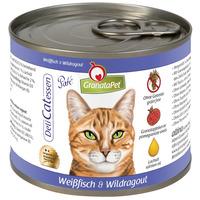 GranataPet DeliCatessen fehérhalas és vadmájas konzerv macskáknak