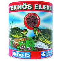 Bio-Lio természetes teknős eledel dobozos és zacskós kiszerelésben
