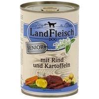 LandFleisch Dog Senior marhás és burgonyás konzerv