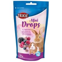 Trixie erdei gyümölcsös Mini Drops rágcsálóknak és nyulaknak