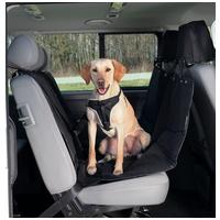 Trixie védőhúzat autóülésre fekete színben