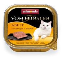 Animonda Vom Feinsten Adult – Szárnyashúsos és tésztás macskaeledel