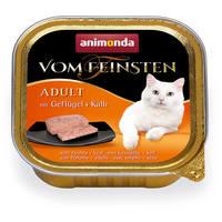 Animonda Vom Feinsten Adult – Szányas- és borjúhúsos macskaeledel