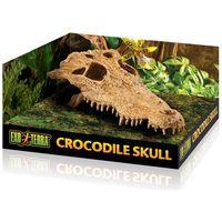 Exo Terra krokodil koponya dekor terráriumba