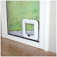 Trixie XL-es macska ajtó ablakhoz, üvegajtóhoz