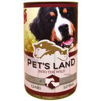 Pet's Land Dog konzerv marhamájjal, bárányhússal és almával