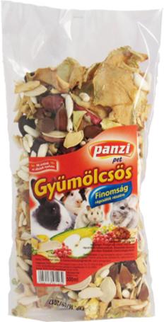 Panzi gyümölcsös finomság rágcsálóknak