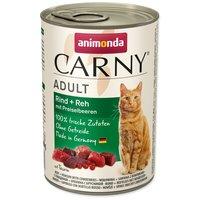 Animonda Carny Adult marhás, szarvasos és vörösáfonyás konzerv macskáknak