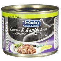 Dr.Clauder's Cat Selected Pearls bárány- és borjúhúsos konzerv