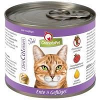 GranataPet DeliCatessen kacsa- és szárnyashúsos konzerv macskáknak