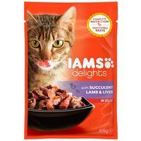IAMS Cat Delights - Bárányhús és máj aszpikban