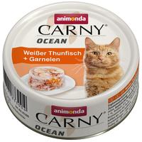 Animonda Carny Ocean fehér tonhalas és garnélás konzerv